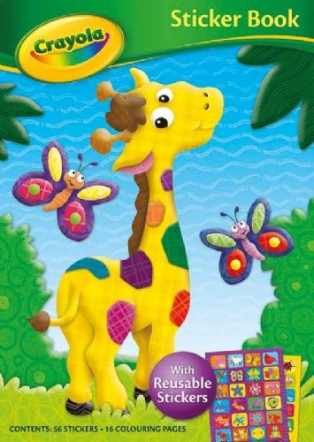 Crayola Sticker Book Giraffe